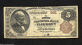 National Bank Notes:West Virginia, Fairmont, WV - $10 1882 Brown Back Fr. 480 The First NB