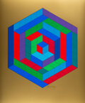 Prints & Multiples, Victor Vasarely (1906-1997). Antworten an Vasarely, portfolio, 1974. 6 screenprints and 6 heliogravures in colors on smo...
