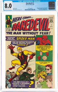 Daredevil #1 (Marvel, 1964) CGC VF 8.0 Off-white to white pages