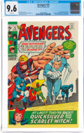 Bronze Age (1970-1979):Superhero, The Avengers #75 (Marvel, 1970) CGC NM+ 9.6 White pages....