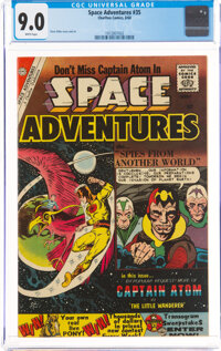 Space Adventures #35 (Charlton, 1960) CGC VF/NM 9.0 White pages