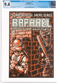Raphael Teenage Mutant Ninja Turtle #1 (Mirage Studios, 1985) CGC NM 9.4 White pages