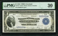 Large Size:Federal Reserve Bank Notes, Fr. 718 $1 1918 Federal Reserve Bank Note PMG Very Fine 30.. ...