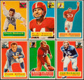 Football Cards:Sets, 1956 Topps Football Complete Set (120) with Checklists (2)....