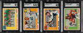 Football Cards:Sets, 1955 Topps Football All-American Complete Set (100)....