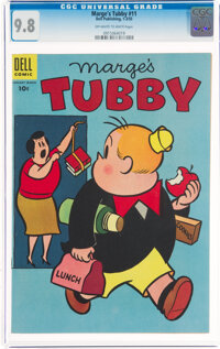 Marge's Tubby #11 (Dell, 1955) CGC NM/MT 9.8 Off-white to white pages