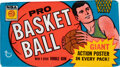 Basketball Cards:Unopened Packs/Display Boxes, 1970 Topps Basketball Unopened Wax Pack. ...