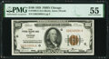 Fr. 1890-G $100 1929 Federal Reserve Bank Note. PMG About Uncirculated 55