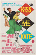 """Movie Posters:Musical, Kiss Me Kate (MGM, 1953). Folded, Very Fine-. One Sheet (27"""" X 41""""). Musical.. ..."""