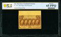 Fractional Currency:First Issue, Fr. 1281 25¢ First Issue PCGS Banknote Gem Unc 65 PPQ.. ...