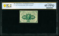Fractional Currency:First Issue, Fr. 1240 10¢ First Issue PCGS Banknote Gem Unc 65 PPQ.. ...