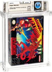 Super Metroid - Wata 9.0 A Sealed [Made in Japan, First Production], SNES Nintendo 1994 USA