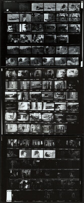 """The Texas Chainsaw Massacre (Bryanston, 1974). Very Fine+. Contact Sheet Photos (3) (8"""" X 10""""). ... (Total: 3..."""