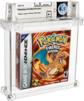 Video Games:Nintendo, Pokemon FireRed Version - Wata 8.5 A+ Sealed, GBA Nintendo 2004 USA....