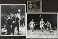Basketball Collectibles:Photos, 1966 Texas Western vs. Kentucky Championship Vintage Photographs, Lot of 3. ... (Total: 3 items)