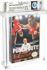 Mike Tyson's Punch-Out!! - Wata 9.6 A++ Sealed [Oval SOQ TM, Later Production], NES Nintendo 1987 USA