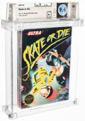 Video Games:Nintendo, Skate or Die - Wata 9.4 A+ Sealed [Rev-A, Round SOQ], NES Ultra 1987 USA. ...