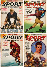 Sport Story Magazine Box Lot (Street & Smith, 1936-43) Condition: Average VG.... (Total: 81 Items)