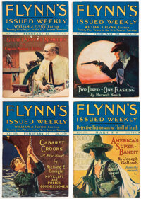 Detective Fiction Weekly Box Lot (Red Star Magazine, 1926-27) Condition: Average FN