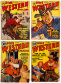 Pulps:Western, Assorted Western Pulps Box Lot (Various, 1940s-50s) Condition: Average GD/VG....