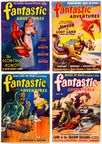 Fantastic Adventures Group of 10 (Ziff-Davis, 1940-51) Condition: Average FN/VF.... (Total: 10 Items)