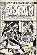Original Comic Art:Covers, Gil Kane Conan the Barbarian #23 Cover Original Art (Marvel, 1973)....