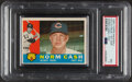 Baseball Cards:Unopened Packs/Display Boxes, 1960 Topps Baseball (6th Series) Cello Pack PSA NM 7 - Norm Cash Top Card. ...