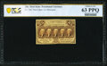 Fr. 1282 25¢ First Issue PCGS Banknote Choice Unc 63 PPQ