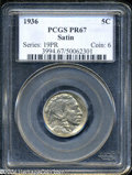 Proof Buffalo Nickels: , 1936 Type One--Satin Finish PR 67 PCGS. The current Coin ...