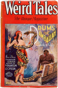 Weird Tales - March 1930 (Popular Fiction) Condition: VG