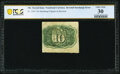 Fractional Currency:Second Issue, Fr. 1244 10¢ Second Issue Inverted Back Surcharge PCGS Banknote Very Fine 30.. ...