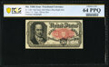Fractional Currency:Fifth Issue, Fr. 1381 50¢ Fifth Issue Courtesy Autograph PCGS Banknote Choice Unc 64 PPQ.. ...