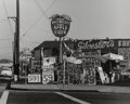 Photographs, Pirkle Jones (American, 1914-2009). Drink Macomber's Pure Apple Cider, San Francisco, circa 1965. Gelatin silver. 7-5/8 ...