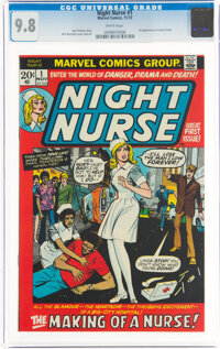 Night Nurse #1 (Marvel, 1972) CGC NM/MT 9.8 White pages