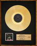 Music Memorabilia:Awards, The Platters Presented Encore of Golden Hits In-House Gold Sales Award. ...