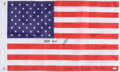 """Autographs:Others, Navy SEAL Robert O'Neil Signed American Flag - """"Never Quit!""""...."""