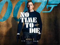 """No Time to Die (United Artists, 2019/2020). Rolled, Very Fine+. British Quads (9) (30"""" X 40"""") DS, Different Ad..."""