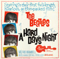 """Movie Posters:Rock and Roll, A Hard Day's Night (United Artists, 1964). Folded, Very Fine/Near Mint. Six Sheet (80.25"""" X 78.75"""").. ..."""