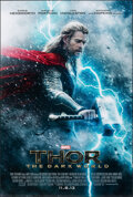 "Movie Posters:Adventure, Thor: The Dark World (Walt Disney Studios, 2013). Rolled, Very Fine+. One Sheet (27"" X 40"") DS Advance. Adventure.. ..."