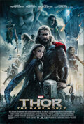 "Movie Posters:Adventure, Thor: The Dark World (Walt Disney Studios, 2013). Rolled, Very Fine. One Sheet (27"" X 40"") DS Advance. Adventure.. ..."