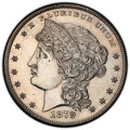 1879 $1 Metric Dollar, Judd-1618, Pollock-1813, R.5, -- Repaired -- PCGS Genuine. Proof, Unc Details....(PCGS# 61996)