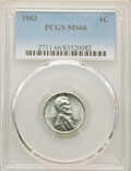 (15)1943 1C MS66 PCGS. Housed in individually certified PCGS holders.... (Total: 15 coins)