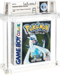 Video Games:Nintendo, Pokémon Silver Version - Wata 9.4 A++ Sealed, GBC Nintendo 2000 USA....