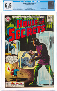 House of Secrets #63 (DC, 1963) CGC FN+ 6.5 Off-white pages