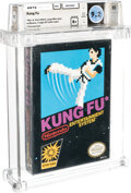 Video Games:Nintendo, Kung Fu - Wata 9.2 B+ Sealed [Oval SOQ, Later Production], NES Nintendo 1985 USA....