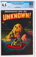 Golden Age (1938-1955):Horror, Adventures Into The Unknown #2 (ACG, 1948) CGC VG+ 4.5 Off-white pages....