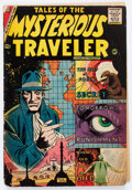 Silver Age (1956-1969):Horror, Tales of the Mysterious Traveler #6 (Charlton, 1957) Condition: GD....