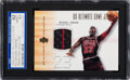 Basketball Cards:Singles (1980-Now), 2000 Ultimate Collection Michael Jordan (Ultimate Game Jersey Gold) #MJ-J SGC 92 NM/MT+ 8.5 Plus ....
