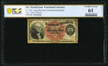 Fractional Currency:Fourth Issue, Fr. 1302 25¢ Fourth Issue Courtesy Autograph PCGS Banknote Uncirculated 61 Details.. ...