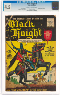 Black Knight #1 (Atlas, 1955) CGC VG+ 4.5 Cream to off-white pages